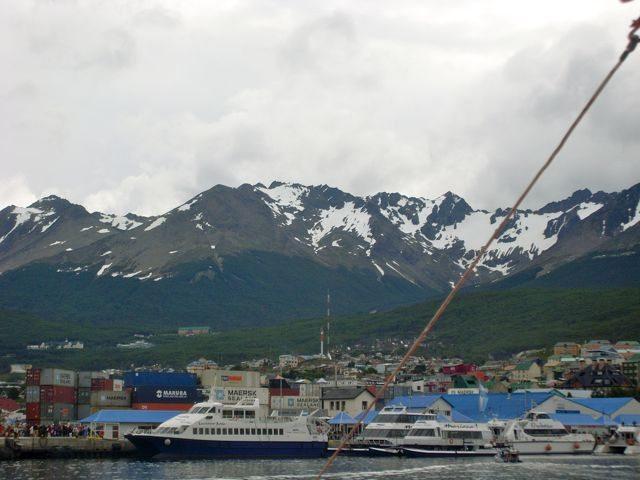 Going to Antarctica - Ushuaia