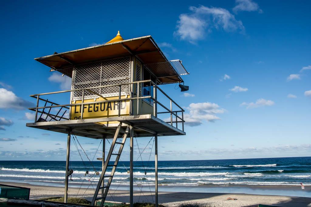 Gold Coat Queensland - best gold coast beach - Burleigh Heads beach