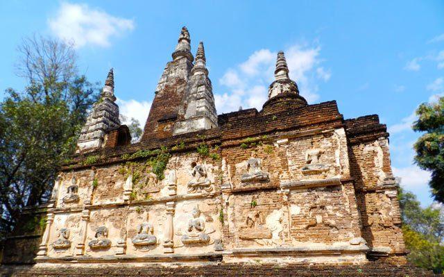 Wat Jedyod, Chiang Mai, Thailand