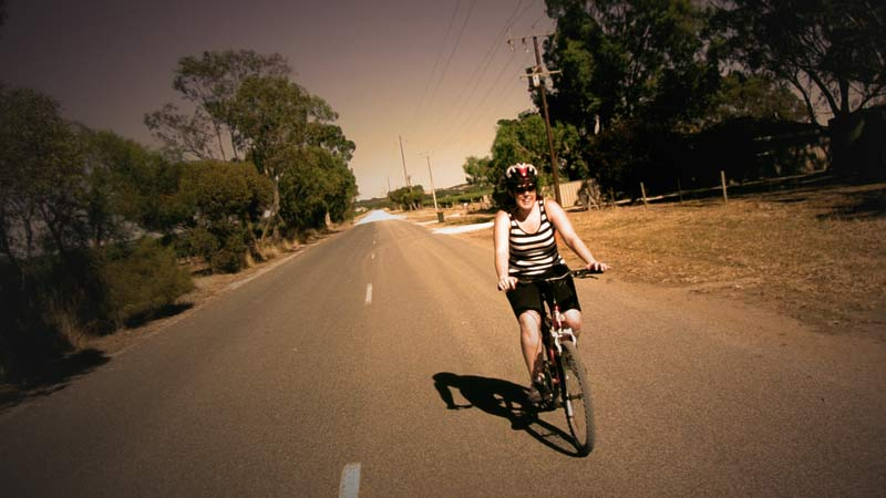 Cycling around the Barossa Valley