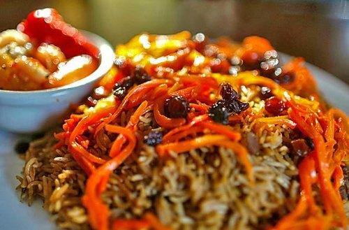 Asian cuisine national dish vs strange food for Afghanistan cuisine food