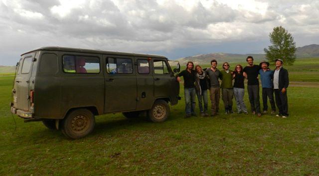 Mongolia tour group1