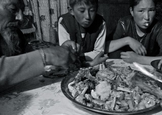 Five Fingers - Traditional Mongolian dish.
