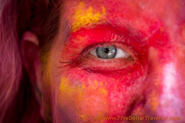 Holi Festival Jaipur Eye