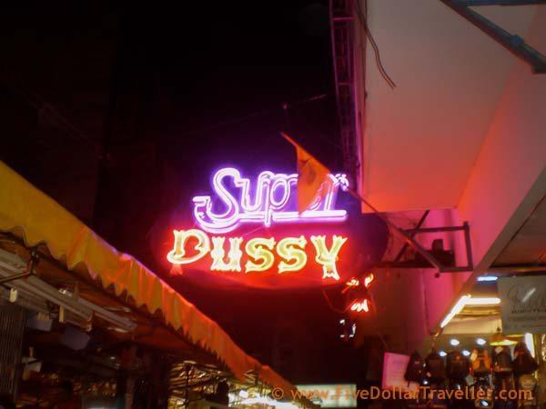 Super Pussy ping pong show Bangkok