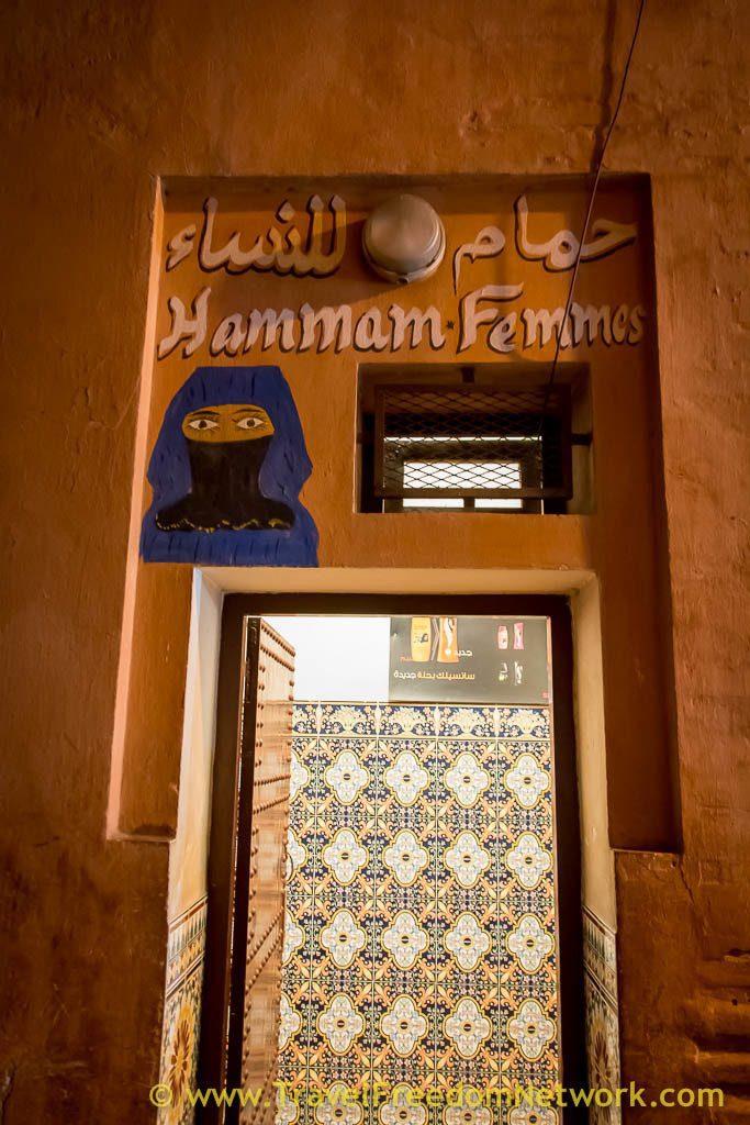 Moroccan Hammam Marrakech Femme