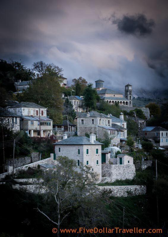 Kalyrites town Greece