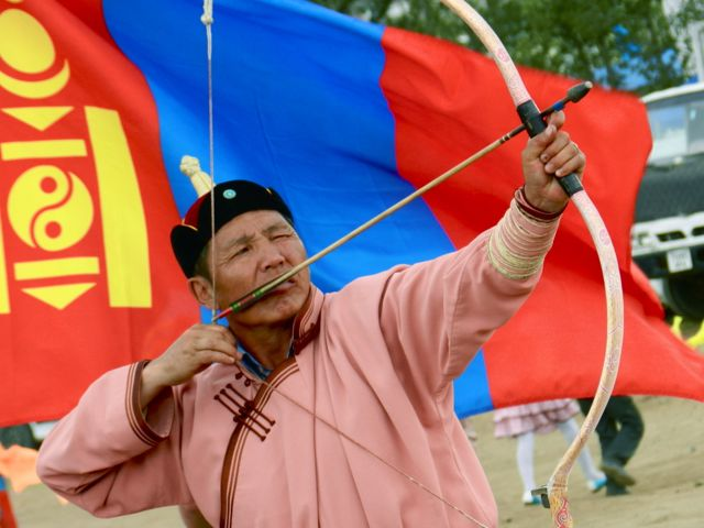 Naadam Archery (Mongolia Podcast)