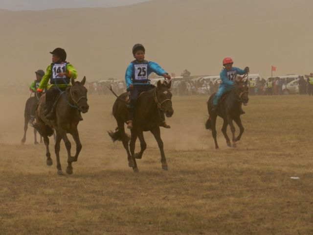 Horse Riding at the Naadam Festival (Mongolia Podcast)