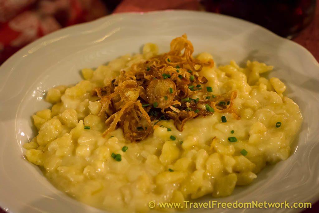 Kaese Spaetzle - Visiting Munich Germany - Food Fun Adventure in Munich