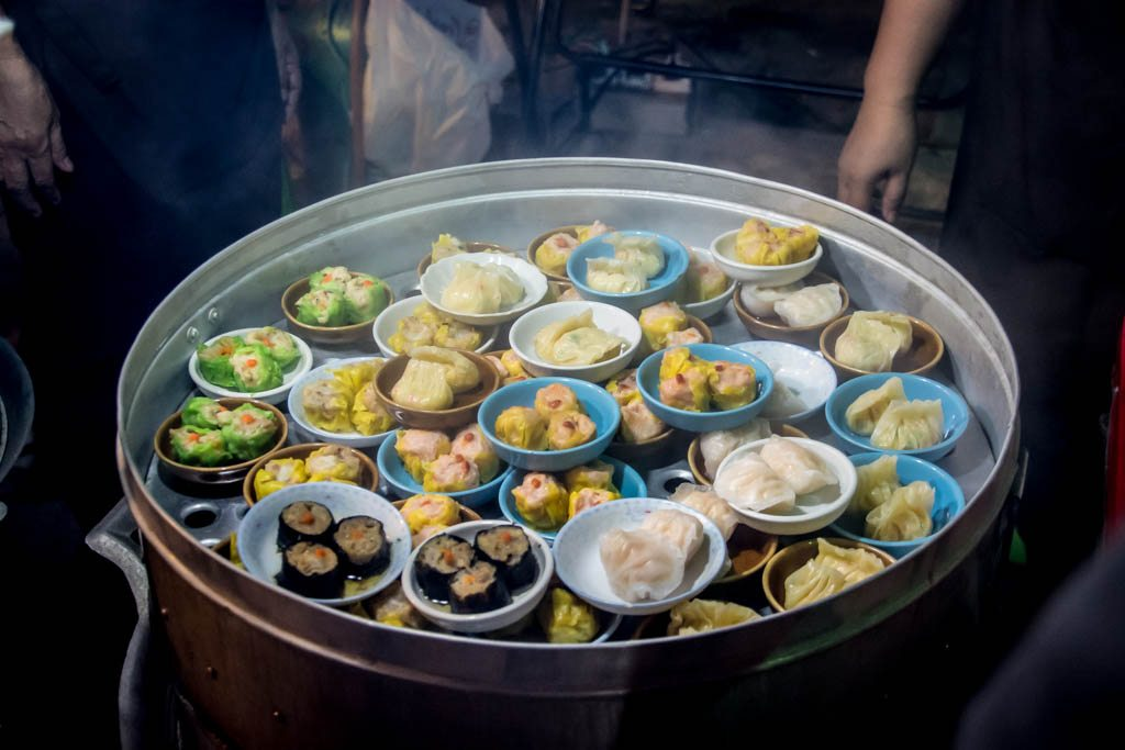 Local street food - dim sum