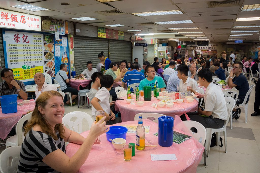 Places to eat Hong Kong - Bowrington Market