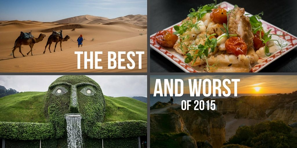 16 countries and 2 continents. Our best and worst Food Fun Travel experiences for 2015. Find out what we loved and what we loathed.