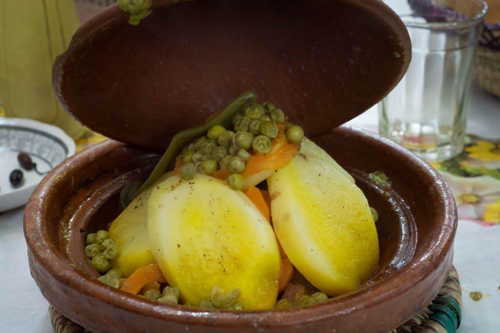 foods around the world - worst Tagine ever - bad