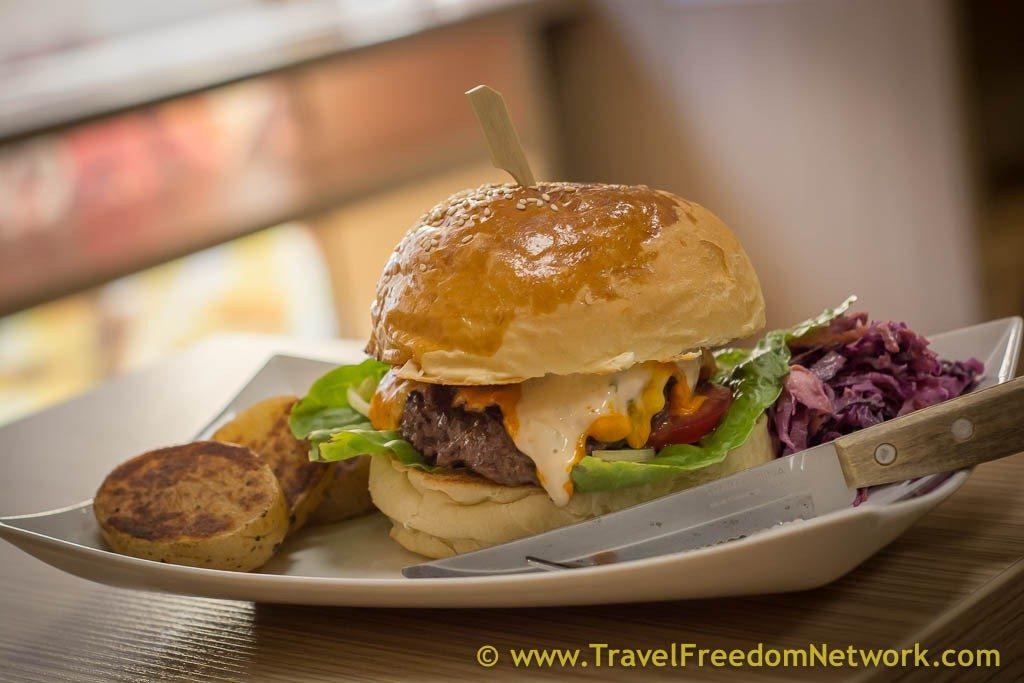 foods around the world - W35 Burger Budapest