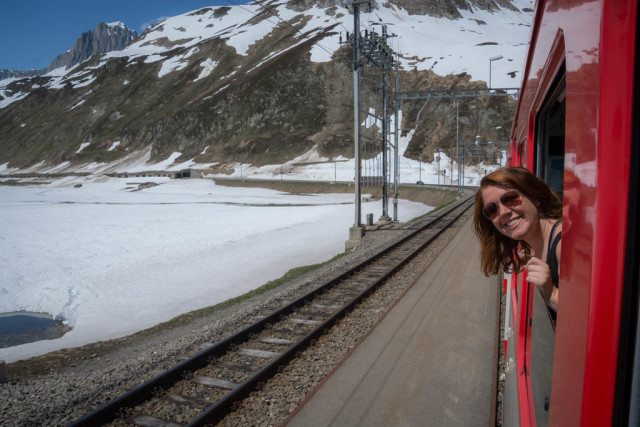 glacier express train ride switzerland (DIY Version) Oberlap pass