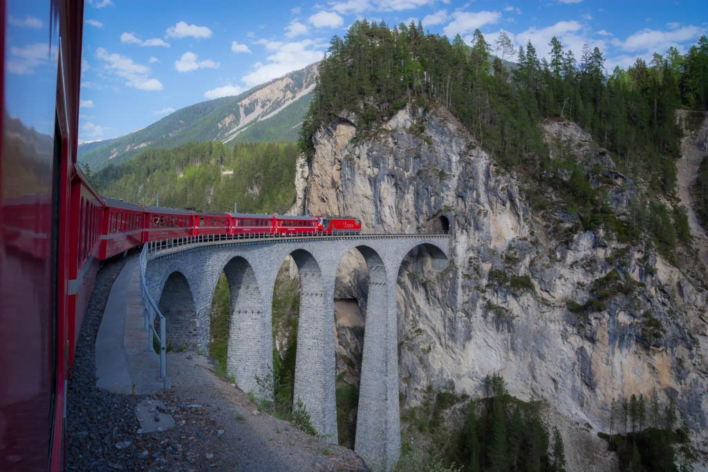 Glacier Express Switzerland Bernina UNESCO
