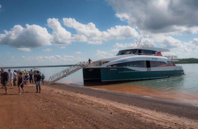 Tiwi Islands Ferry - Tiwi islands Tours