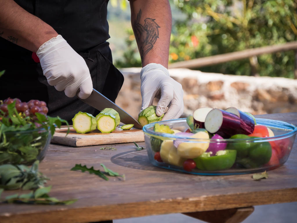 Crete food - farm to table in Greece