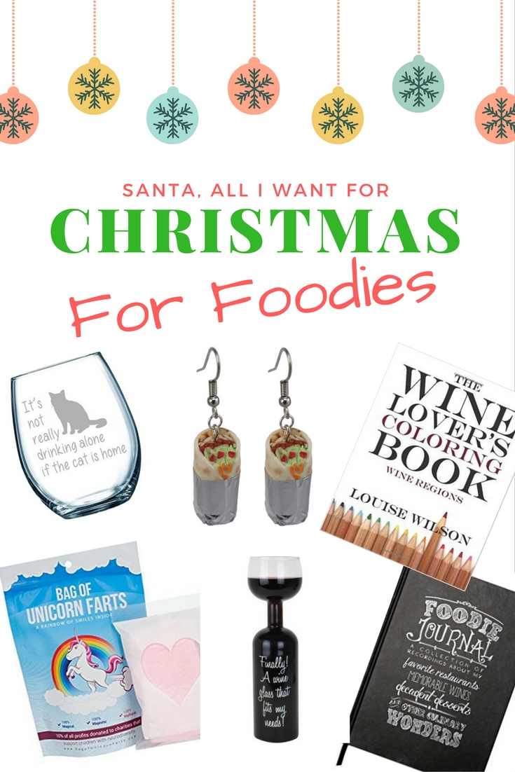Best Foodie Gifts 2016 - We all know a foodie - perhaps you are one yourself? And finding the perrrfect foodie gifts can be difficult. As massive gourmands ourselves we have put together the ultimate list of what is on our personal christmas wish list this year. If we even find one if these gifts under our christmas tree this year, we would totally squeal for joy!