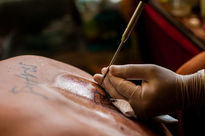 What to do in Chiang Mai - Where to get sak yant tattoo thailand