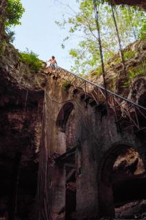 Merida Cenotes: Cenote Chelentun - Cuzama Cenotes