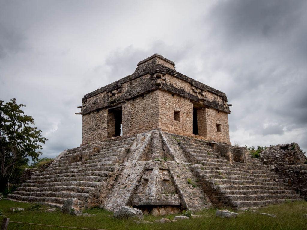 Mayan Ruins Merida Yucatan Mexico - Dzibilchaltún - Temple of the dolls