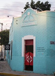 El Cardenal cantina merida mexico nightlife