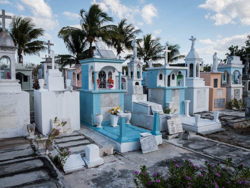 downtown Merida Mexico Yucatan - Cemetery