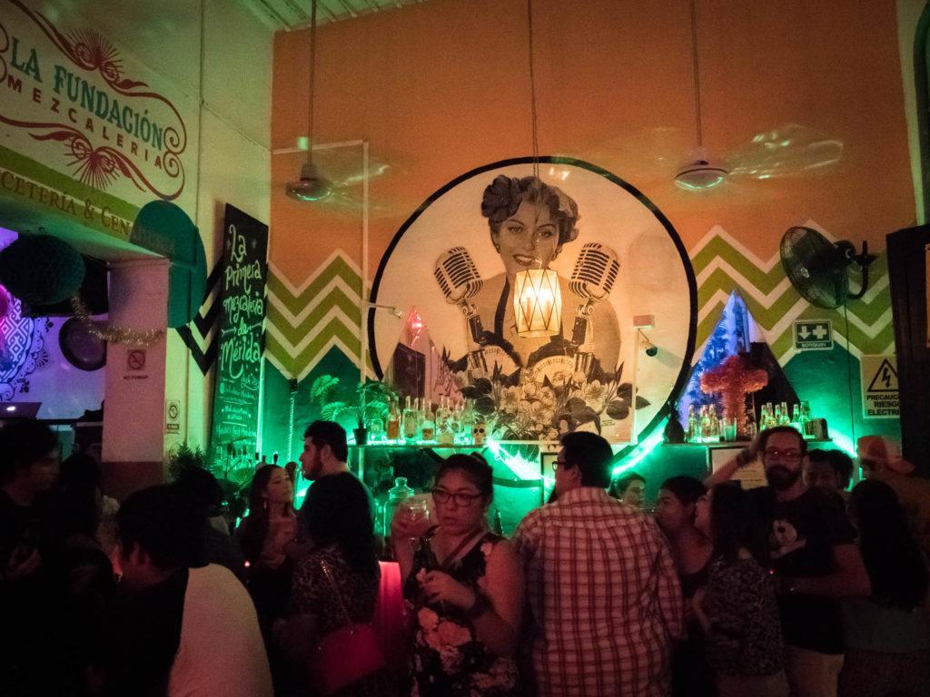 La Fundacion Mezcaleria - Merida Mexico Nightlife