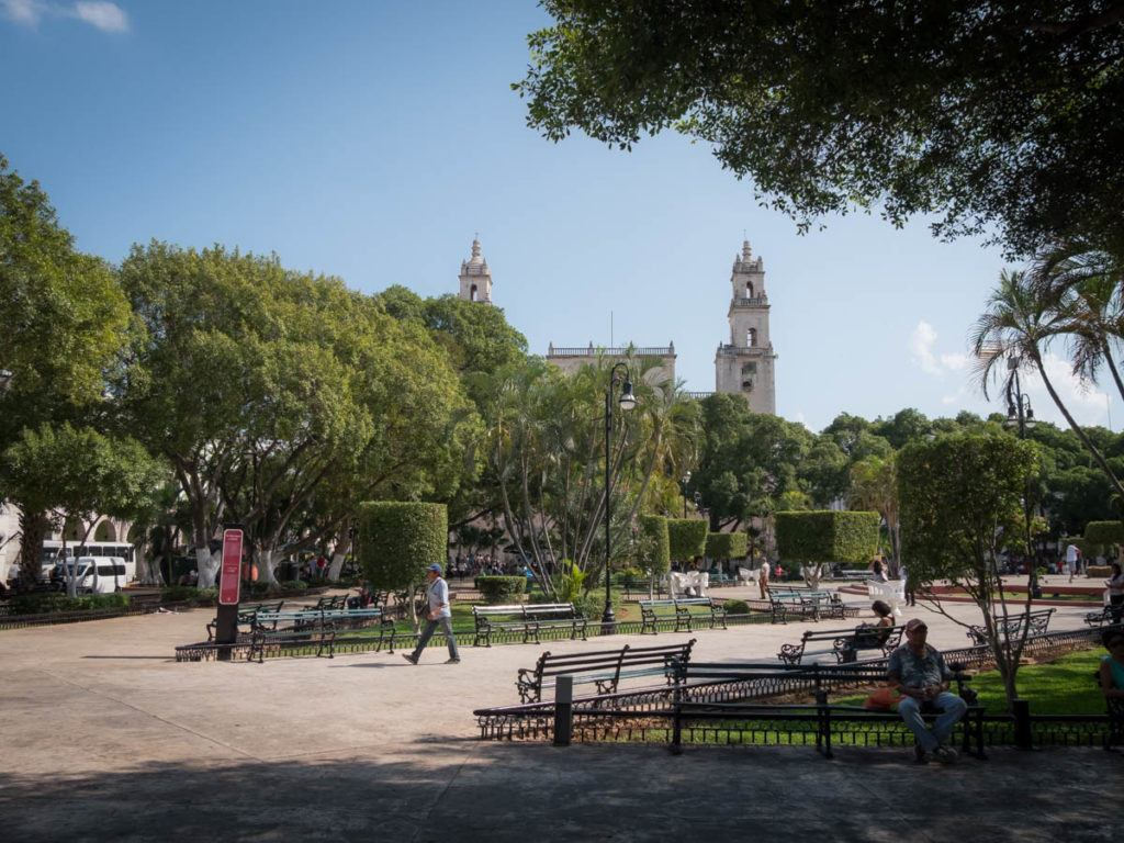 downtown Merida Mexico Yucatan - Plaza Grande