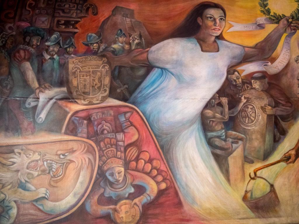 Downtown Merida Mexico Yucatan - Mayan Meets Spanish colonial