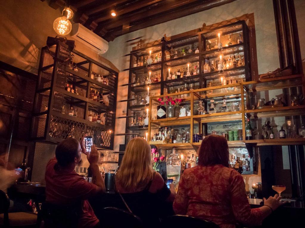 Malahat Speakeasy Bar - Merida Mexico Nightlife
