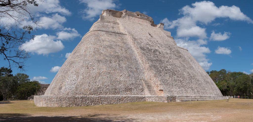 Uxmal Mayan Ruins - Main Pyramid - Best Mayan Ruins Mexico