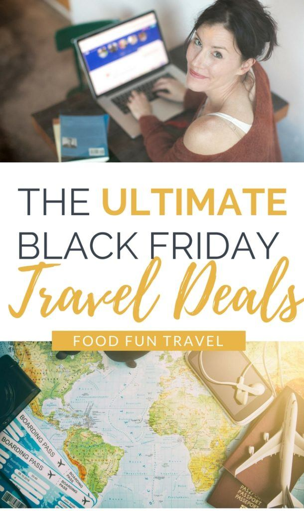 Black Friday and Cyber Monday Travel Deals. Get super discounts on many top brands from tours & hotels to guidebooks & gear and everything in between.