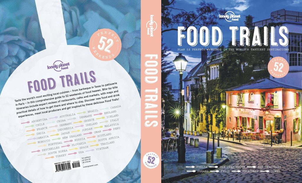 Lonely Planet food trails - Best gifts for foodies 2017