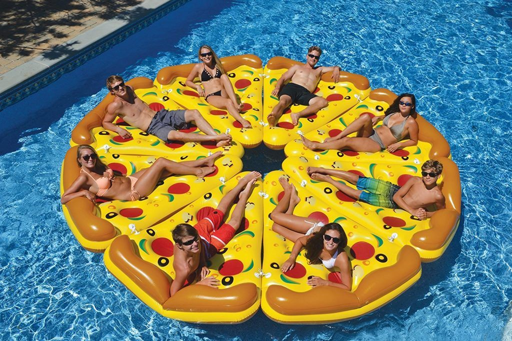 Inflatable Pizza Pool Float - Best Online Foodie Gifts