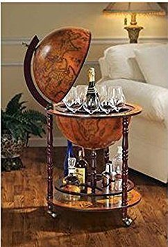 World Globe Bar - Foodie Gifts For Men