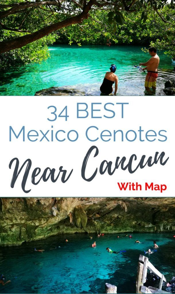 Cenotes Cancun & Best Cenotes Riviera Maya which are easy to reach from Cancun, Tulum, Playa Del Carmen, Puerto Morelos and Bacalar - we include a free cenote map. Stunning cenotes near Tulum, like the underwater cave cenote Dos Ojos. And cenotes near Playa Del Carmen like cenote Azul.