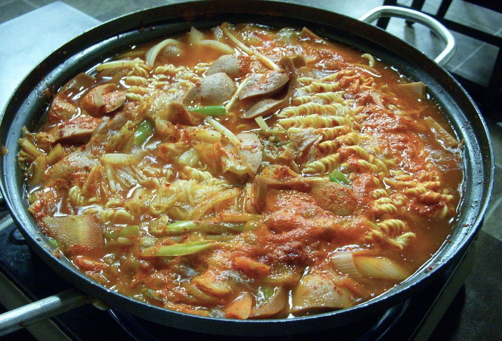Korean Army Stew - History of Kimchee - What to eat in Seoul