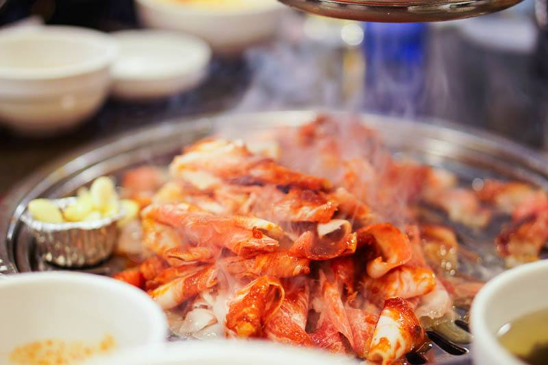 What to eat in Seoul - Korean bbq