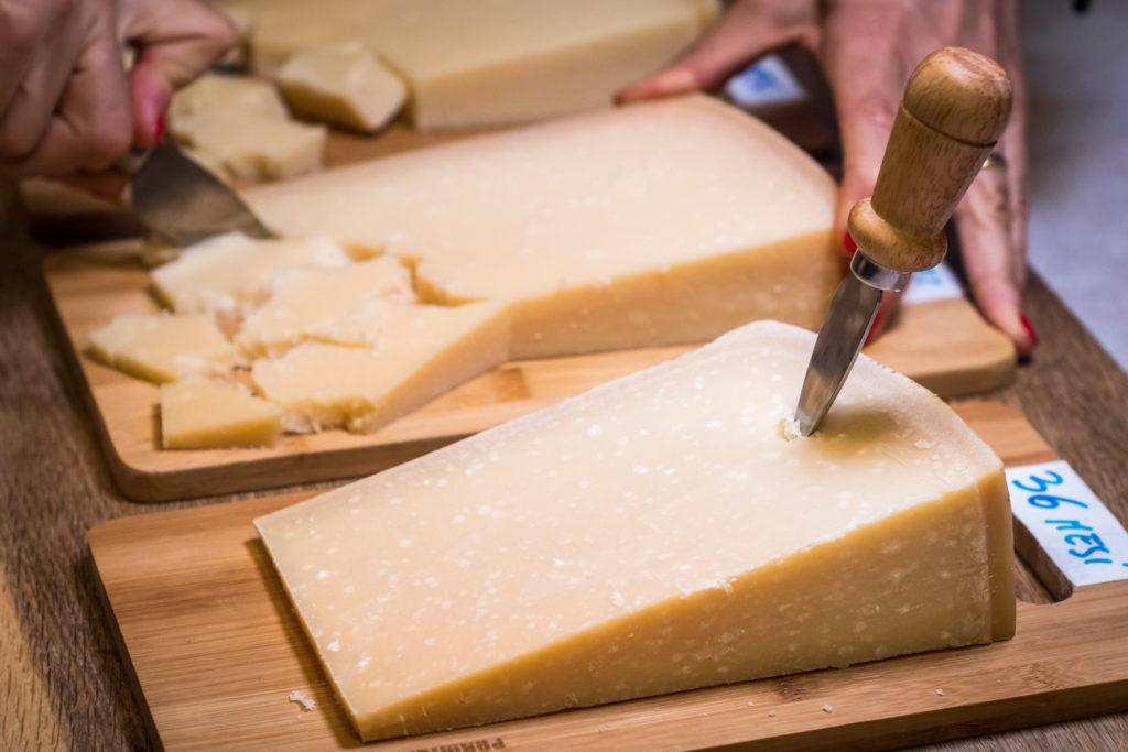 Bologna Food - What to eat in Bologna - Parmigiano-Reggiano Cheese