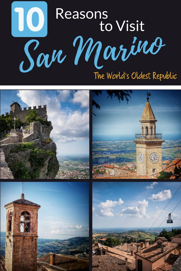 The City Of San Marino - the capital of San Marino, the 5th smallest country and world's oldest republic. Learn why a visit should be on your bucket list.