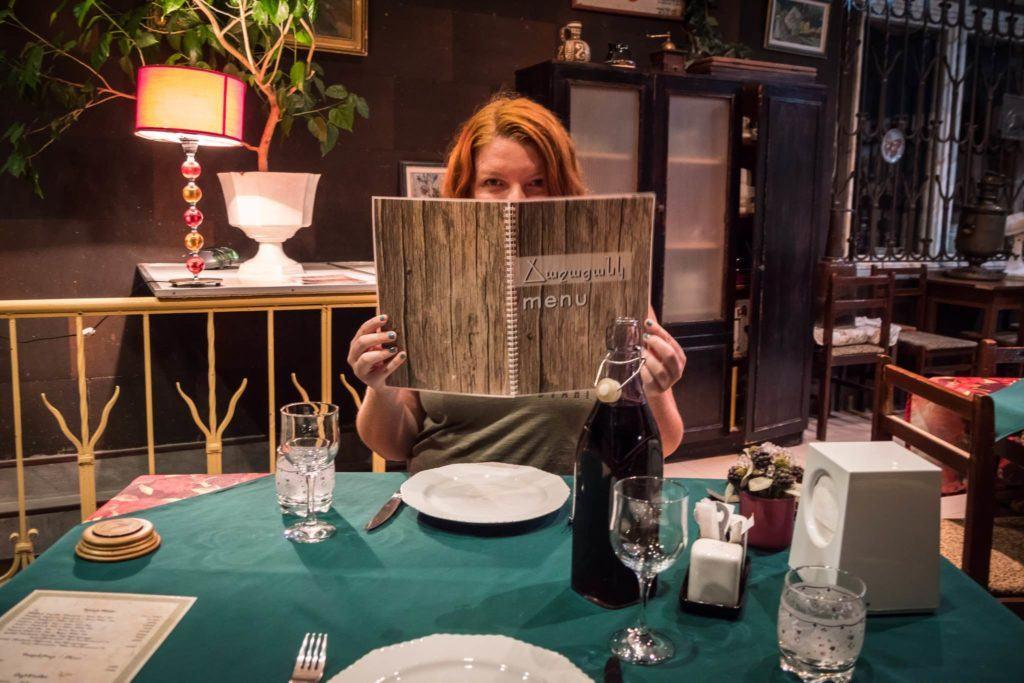 Amazing Restaurants in Yerevan - at Gayane's restaurant