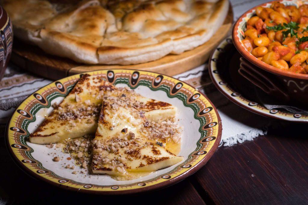Best Plovdiv Restaurants - Grilled Cheese honey walnuts
