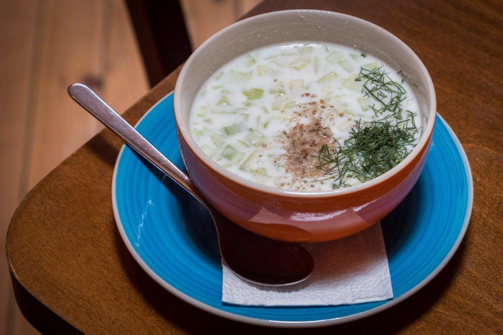 Best Plovdiv Restaurants - Tarrator Soup