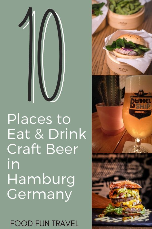 Looking for the ideal place for a wekend away? Try a weekend in Hamburg and discover the best Places to Eat in Hamburg & the Craft Beer Hamburg Scene