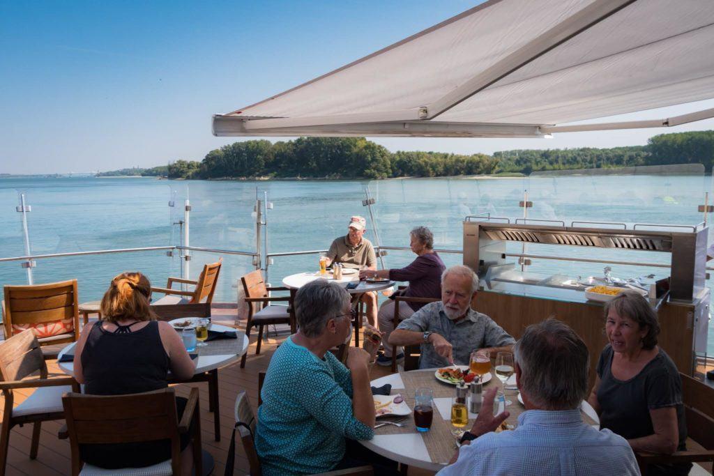Viking Aquavit Terrace. Danube Cruise - Viking Danube Cruise review