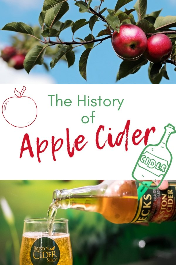 History Of Cider: From 50 million year old apple trees to Julius Ceasar the cider drinker, Johnny Appleseed and modern Craft Apple Cider Alcohol production