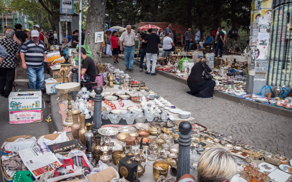 Things To Do in Tbilisi attractions | Places To Visit In Tbilisi Map Google: Dry Bridge Market